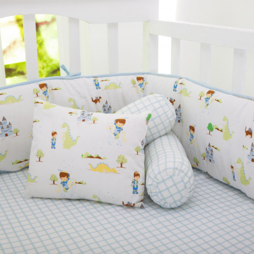 adventures of a prince pillow/bolster set